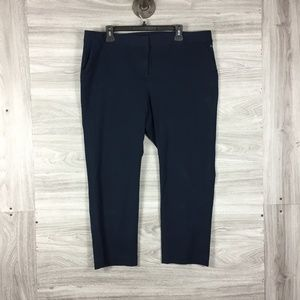Vince Camuto Navy Blue Slacks Work Pants